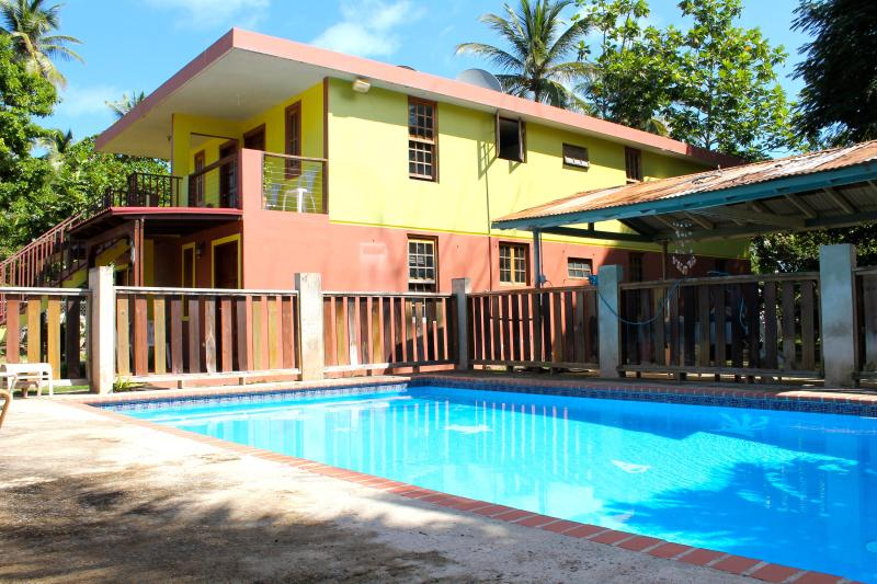 Welcome to DelMar Eco Lodging Apartments, enjoy our salt water pool! - DelMar Eco-Lodging Apartments:  Aguaviva - Luquillo - rentals