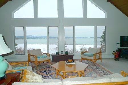 livingroom - Windswept - Southwest Harbor - rentals