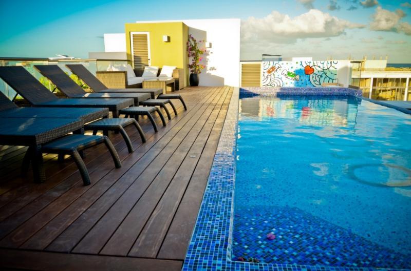 Spacious Flat with Amazing Pool  SO203 - Image 1 - Playa del Carmen - rentals