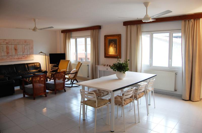 Duplex Top Floor Terrace Nice View - L'Escala 20 metres from the Beach - Image 1 - L'Escala - rentals