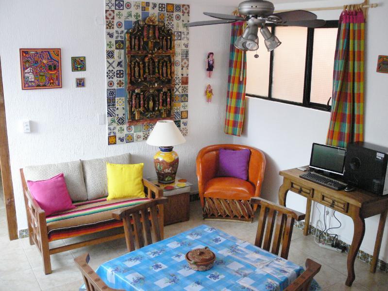 Living room - Retablo - Guanajuato's Best Value - 128 five-star reviews! - Guanajuato - rentals