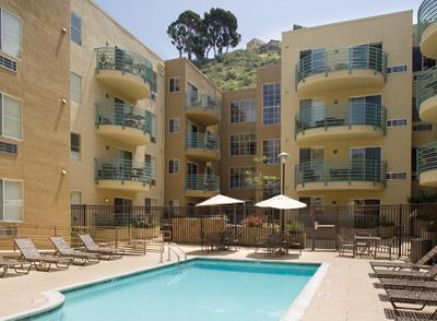 Outdoor heated pool - Sunny San Diego - Pacific Beach - rentals