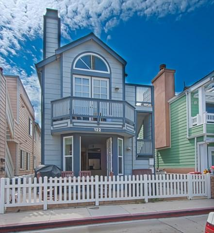 Front - 122 A 24th Street- Lower 3 Bedroom 2 Bath - Newport Beach - rentals