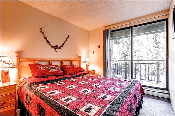 King Bed in the Bedroom - Recently Updated Condo - Minutes from Main Street (2405) - Breckenridge - rentals