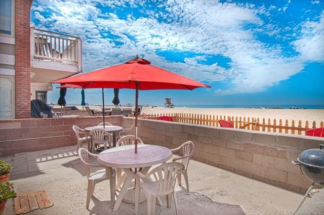 Patio & View - 3615 A Seashore Drive- 2 Bedrooms 2 Baths - Newport Beach - rentals