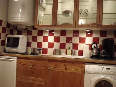 fully equipped kitchen - Louvre Area Cozy and Quiet Apartment for 4 - Paris - rentals