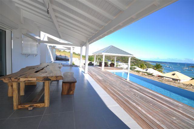 Beautifull Villa 4 Bedrooms / Pool - Sea ViewPINEL - Image 1 - Saint Martin - rentals