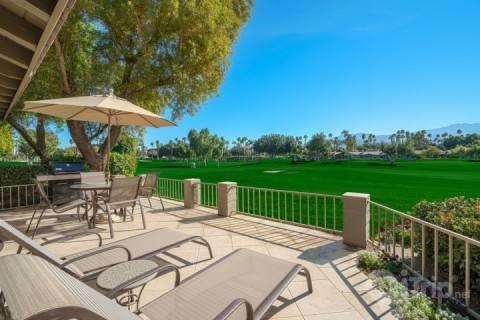 Your 180 Degree View of Mountains and Fairway - Extreme 180 Degree Double Fairway Southern Views of Santa Rosa Mountains -- The Lakes Country Club - Palm Desert - rentals
