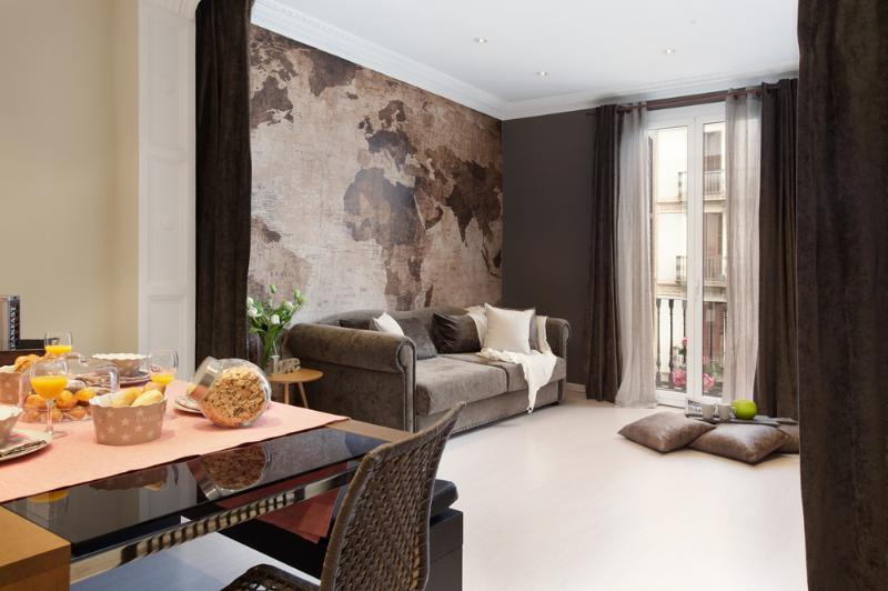 Living Room - Superb, luxurious setting - Tapies 21 - Barcelona - rentals
