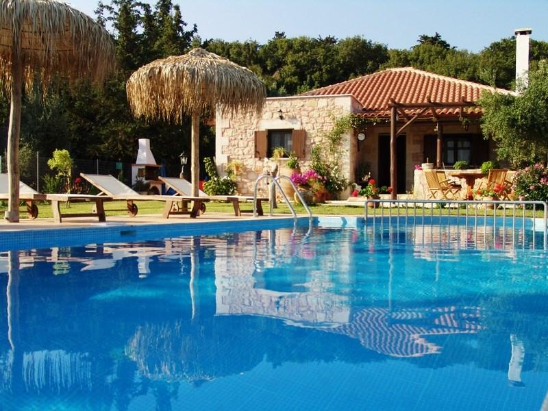 5 Guest Stone Villa in Chania - Image 1 - Chania - rentals