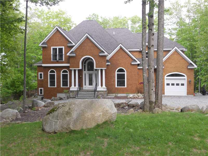 Front of Home - Waterfront Exclusive Home on Sebago, Frye island - Frye Island - rentals
