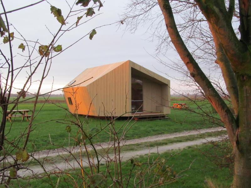 Two special ecolodges near the Wadden Sea - Image 1 - Groningen - rentals