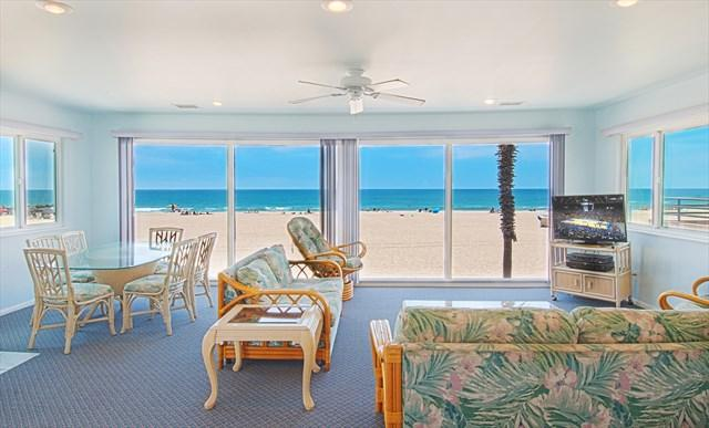 View from inside looking out to the ocean. - 4109 B Seashore Drive- Upper 4 Bedroom 3 Baths - Newport Beach - rentals