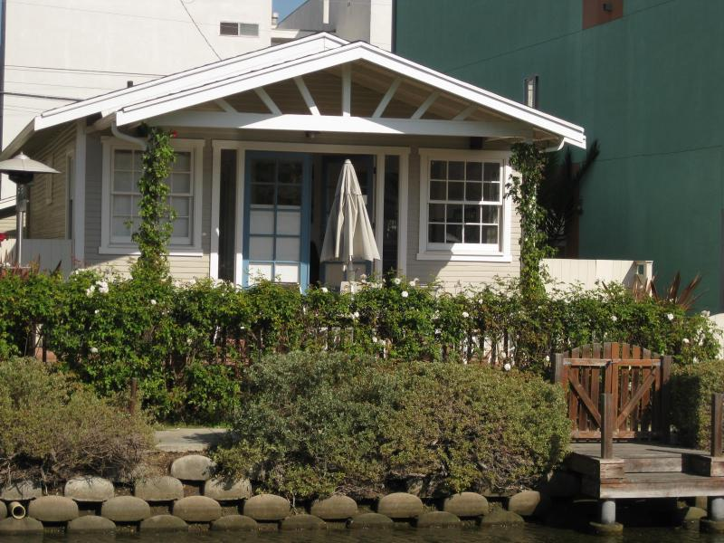 Front of House from across Canal - Venice Canals Waterfront House - 3 blocks to Venic - Los Angeles - rentals