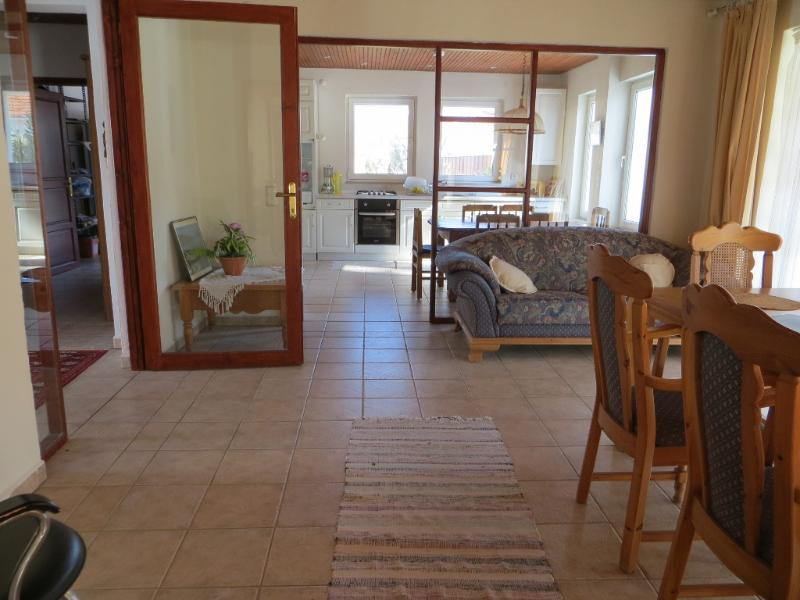 the spacious and light-flooded dining room with a view to kitchen - Villa Kismet - Relax in a green, tranquil valley - Fethiye - rentals