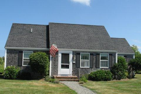 Front of house - 13 meadow lane - Nantucket - rentals