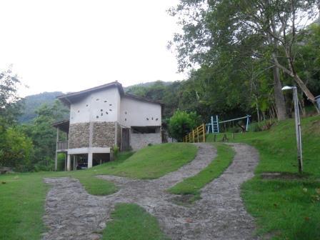 Vista frontal - Casarão na zona rural de Paraty - Paraty - rentals