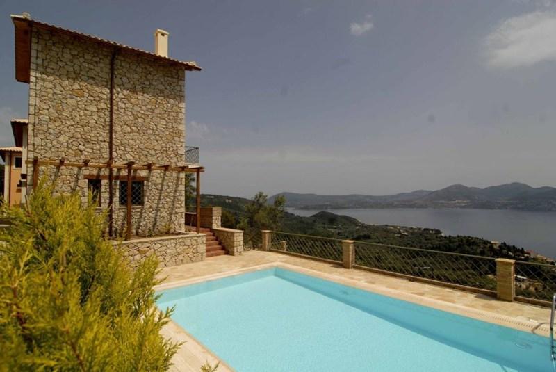 5 Guest Stone Villa in Lefkas - Image 1 - Lefkas - rentals
