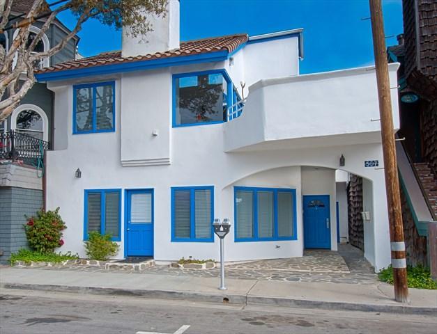 Front - 507 A 29th Street- Upper 4 Bedrooms 3.5 Baths - Newport Beach - rentals