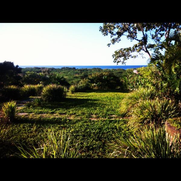 Actual view from main house - Popoyo ocean view hacienda beach house - Las Salinas - rentals