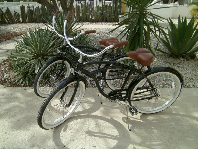 Guests have complimentary use of the 4 beach cruisers - Treasure By The Sea (2) 2 bedroom Elegant Houses - Kralendijk - rentals