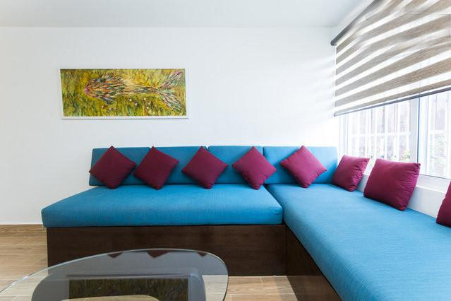 Great couches that are single beds - 3 blocks from the beach 2 bedroom sleeps 6 - Playa del Carmen - rentals