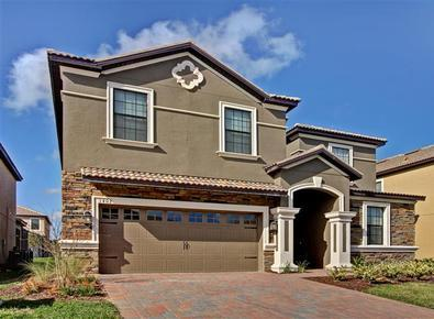 Champions Gate #5 - Luxurious 8 Bedroom Pool Villa with Movie Theater - Image 1 - Loughman - rentals