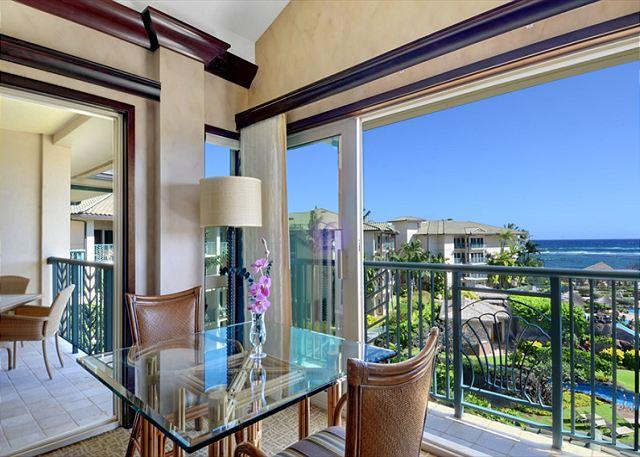 D408 THE VIEW - LARGE Penthouse PRIME Pool & OCEAN View **   CALL NOW - Kapaa - rentals