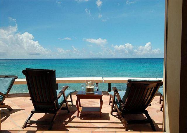 Beautiful, three bedroom, three bath villa sits directly on Bourgeaux Bay! - Image 1 - Saint Martin-Sint Maarten - rentals