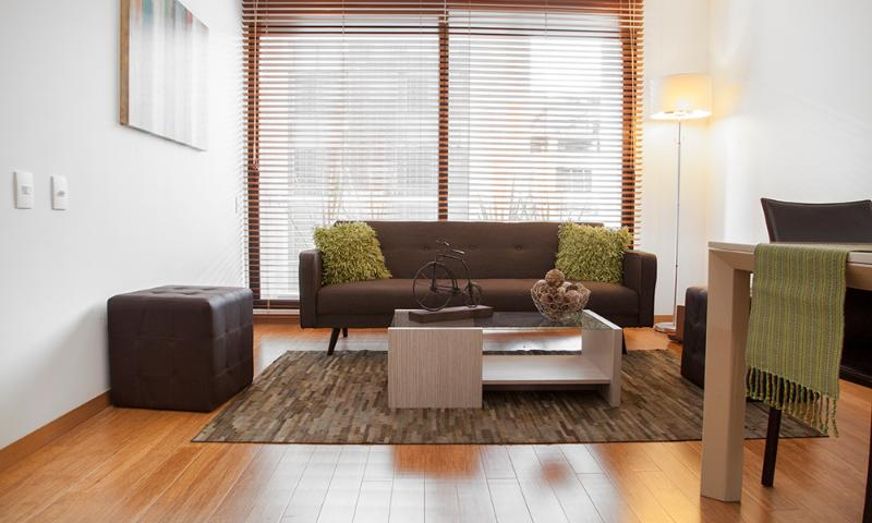Beautiful 2 Bedroom Apartment in Parque 93 - Image 1 - Bogota - rentals