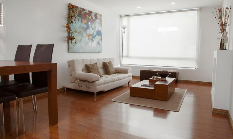 Cozy 1 Bedroom Apartment Near Zona T - Image 1 - Bogota - rentals