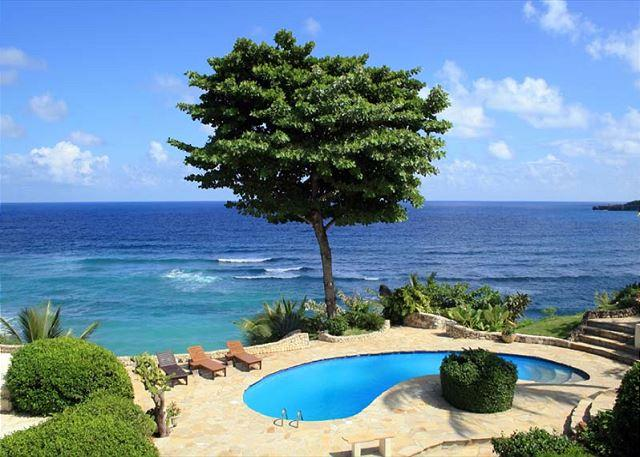 Villa Cabofino Oceanfront Pool - Oceanfront- Lighted Grass Tennis Court - Private Pool - Million Dollar Views - Cabrera - rentals