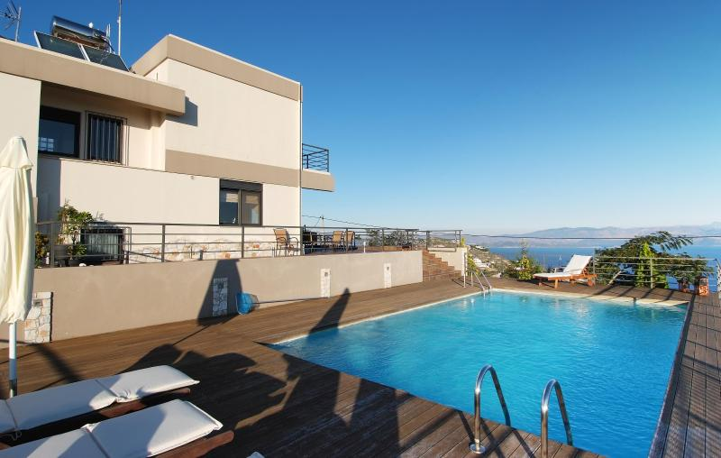Villa with Private Pool and Panoramic Sea Views - Image 1 - Attica - rentals