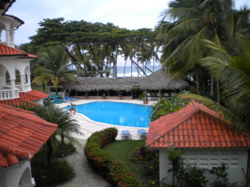 overlooking the pool - dominican republic,cabarete beach condo - Cabarete - rentals