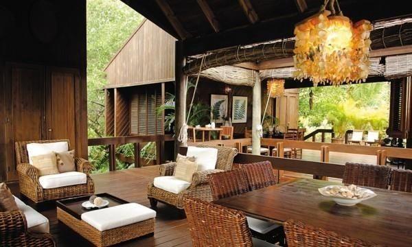 One of the Living Rooms - Casa del Rio / El Portillo, Las Terrenas/ SAMANA- DOMINICAN REPUBLIC - Samana - rentals