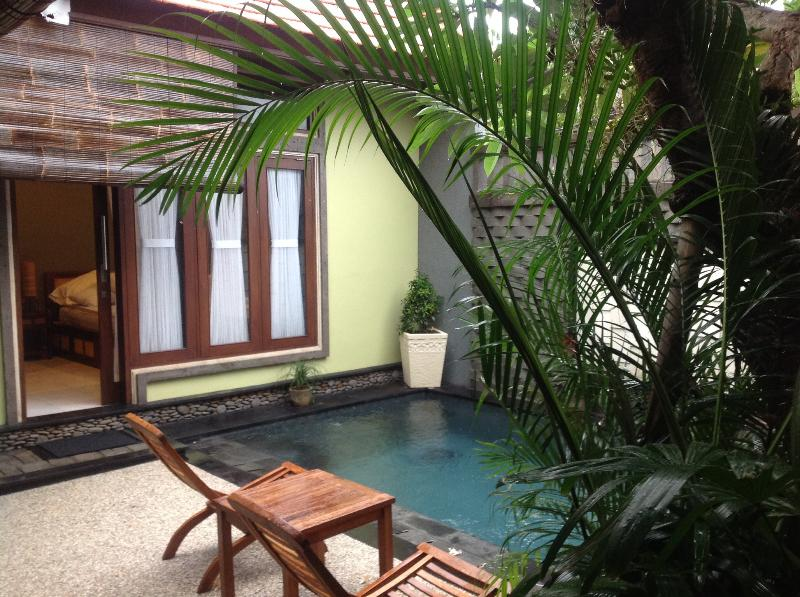Pool area - 2 B/r Villa Private Pool Keroboken - Kerobokan - rentals