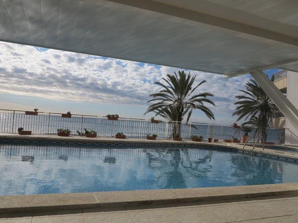 poolside - 5th floor ocean-front , close to Barcelona - Calafell - rentals