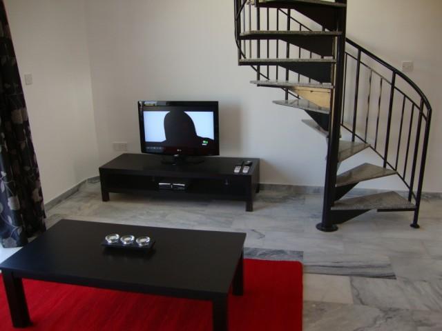 1 Bed Penthouse - Communal Infinity Pool - Image 1 - Argaka - rentals