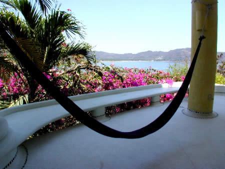 hammock,  upper suite with patio - Casa Bugambilia Ground Floor suite - Zihuatanejo - rentals