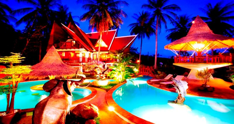 7 BR - In The Nature Romantic Thai-Style Resort - Image 1 - Sao Hai - rentals