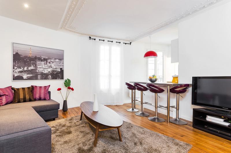 Living Area - 43. Central Apartment - Luxembourg - St. Germain - Paris - rentals