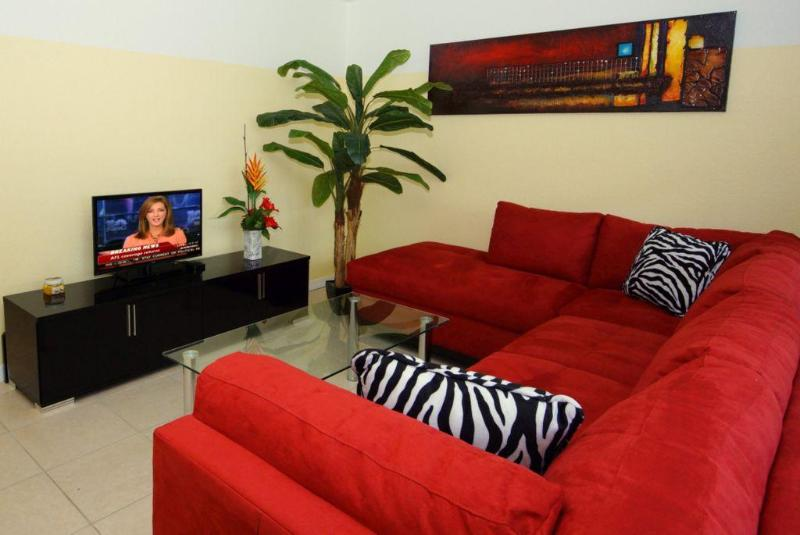Living Room - TV with free NetFlix - BeachBird - Fort Myers Beach - rentals