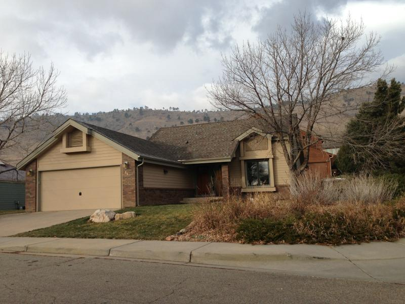 View of house exterior - Located On Open Space with Spectacular Views. - Boulder - rentals