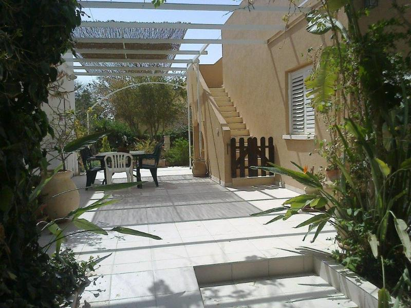Entrance view - GavanRomi - Desert Home: Vacation and rest in desert environment - Sde Boker - rentals