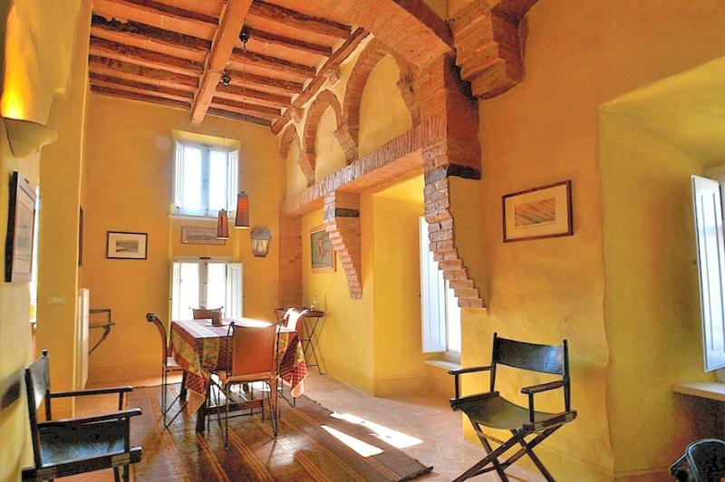 Dining room for 6 persons - Luxury Borgo House in Val d'Orcia Tuscany - Buonconvento - rentals