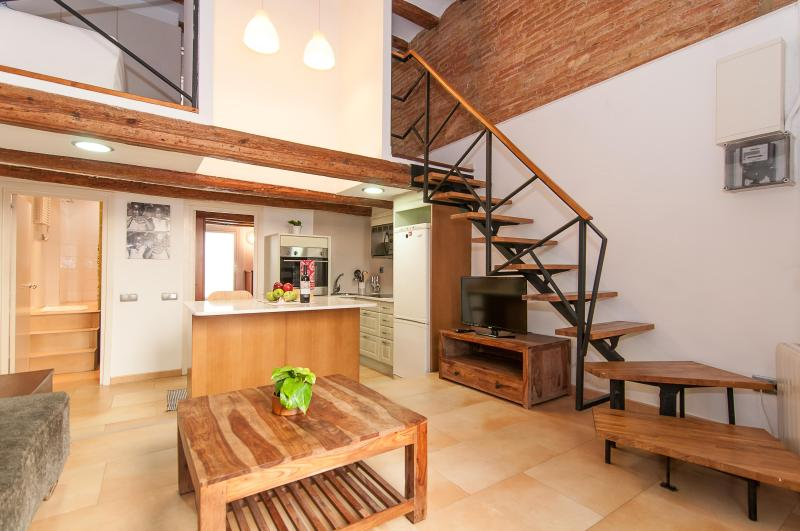 Bogatell Beach Stylish Loft 5 minutes to the beach - Image 1 - Barcelona - rentals