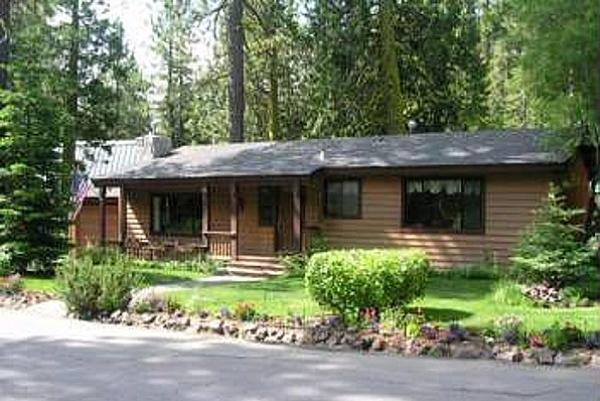 Front of the house - Quiet Forest Home - Walk to Lake - Tahoe City - rentals