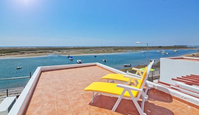 Terrace - 1 Bedroom apartment explendid sea view - Cabanas de Tavira - rentals