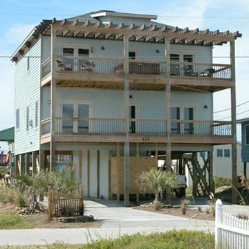 Front of Beach Home - Luxury 4 Bedroom Beach House with private pool!! - North Topsail Beach - rentals