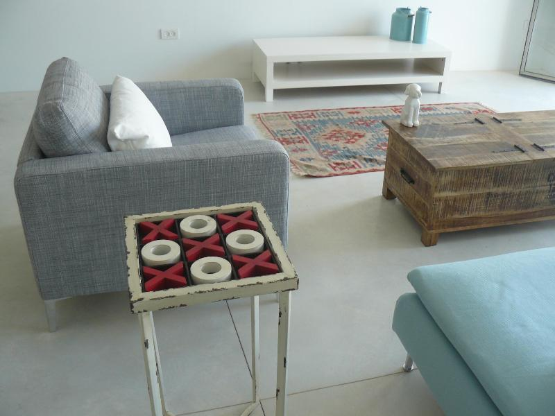 Living room - sea view amazing boutique duplex - Jaffa - rentals